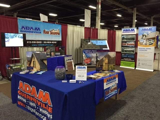 AQRS Home Show Booth
