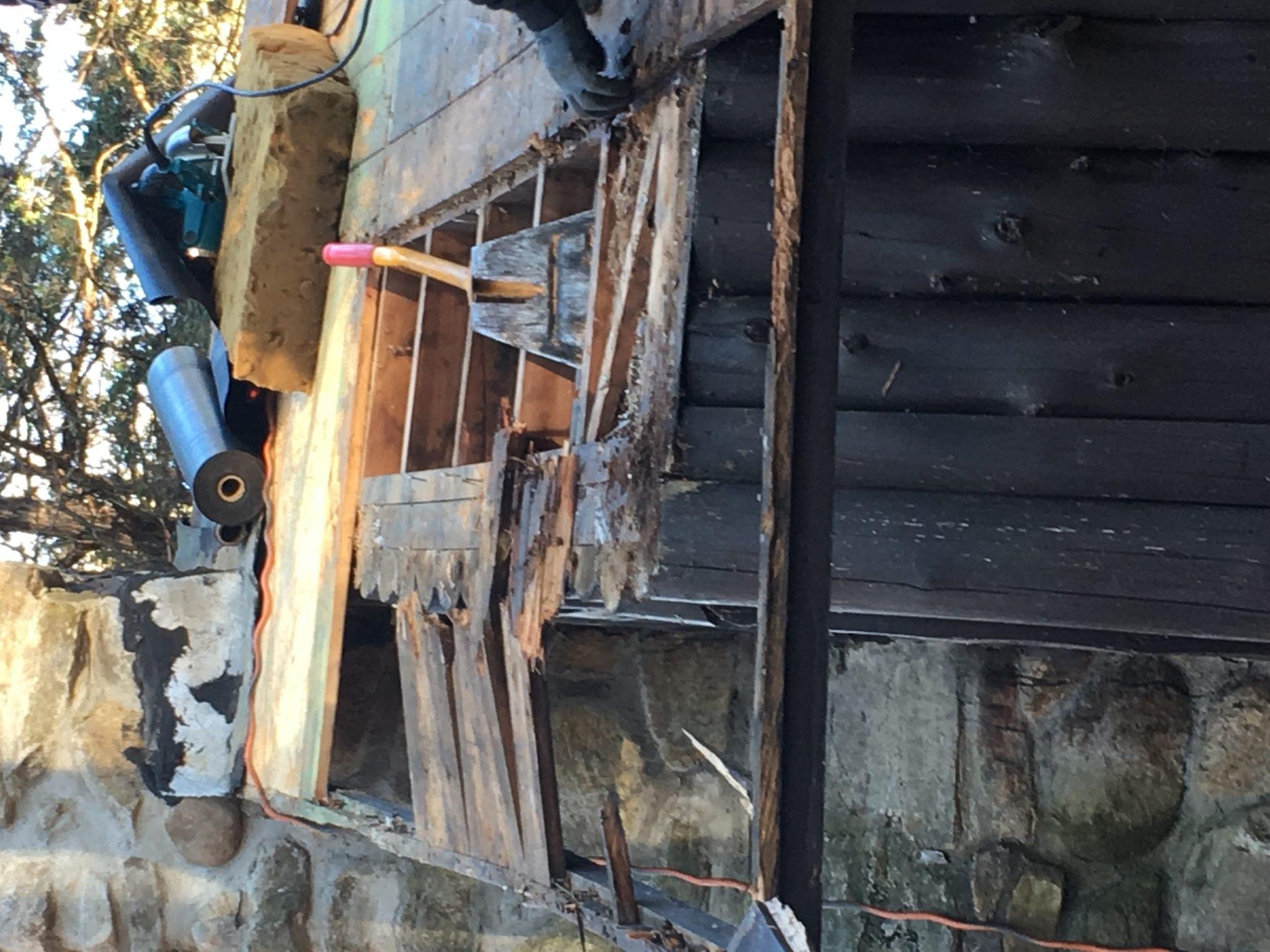 repair of CLP roof