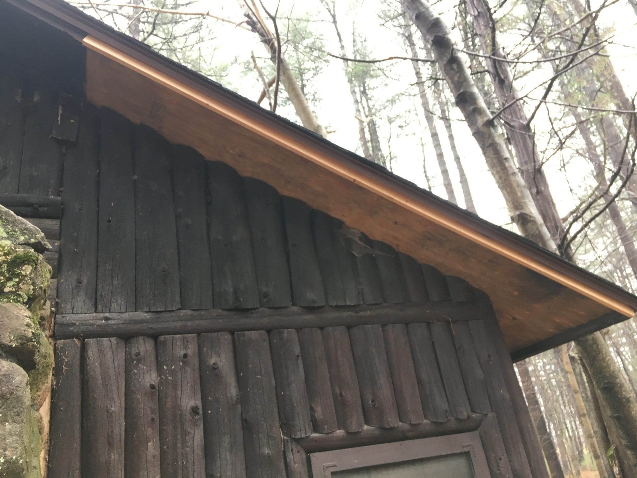 repair of CLP troop roof