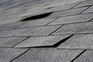 An image of a roof in need of roof repair in Chicopee, MA
