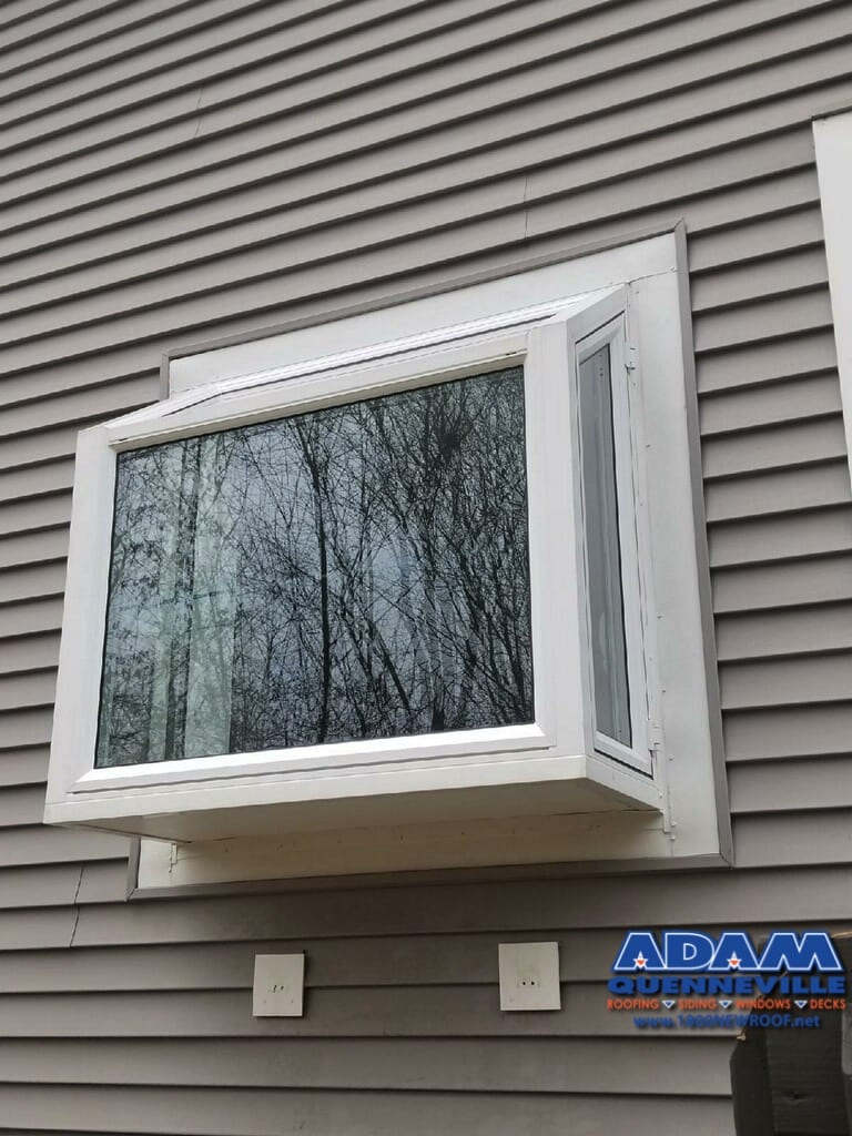 This is a photo of a local window replacement project.