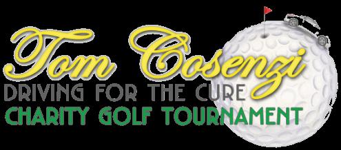 This is the Community Involvement Tom Consenzi golf tournament logo.